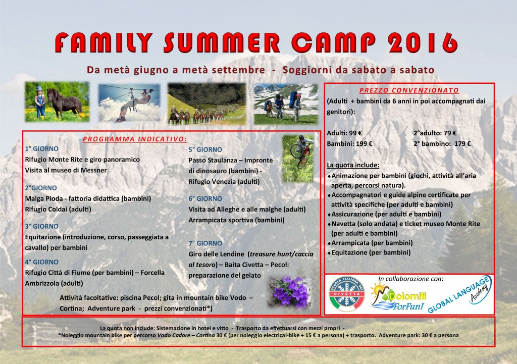 Summer camp 2016 flyer per hotel_italiano.pub