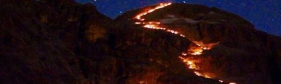 Fiaccolata sul Monte Civetta!